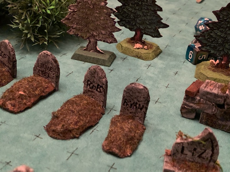 graves of the players