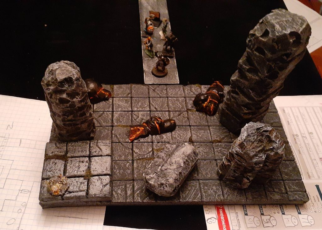 lava imps and terrain dungeon build