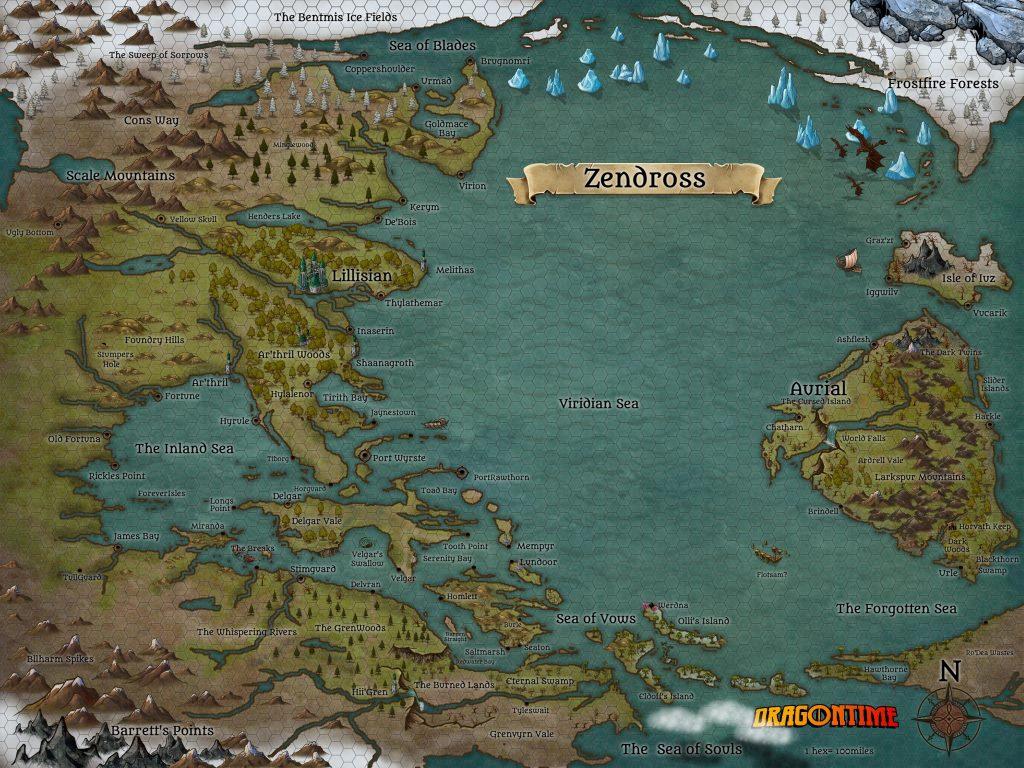 Zendross map homebrew d&d